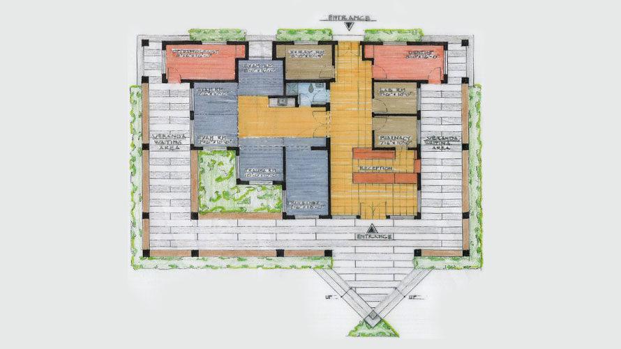 Centre De Sante, Haiti — By Eric Gerdes, Architectural Designer
