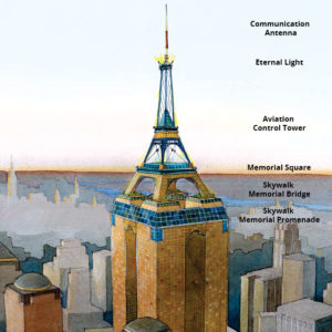 New World Trade Center Memorial Skywalk & Memorial Park — By Eric Gerdes