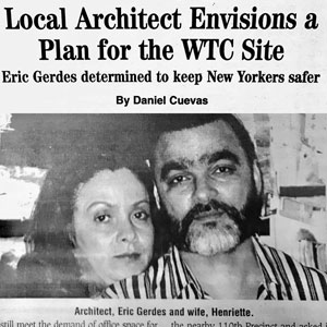 Local Architect Envision Plan for the WTC Site