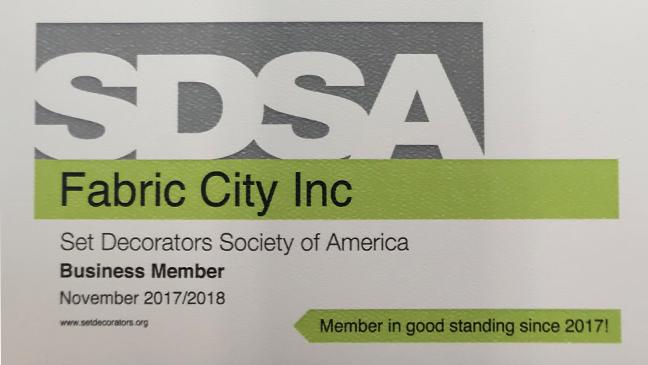 SDSA Set Decorators Society of America